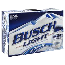 Busch Light 24 can